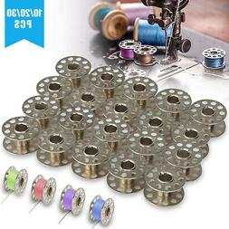 10-30x Bobbins Sewing Machine Spools For Brother Singer Baby