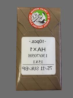 10 75/11BP BALL POINT ORGAN FLAT SHANK 15X1 HAX1 130/705 HOM