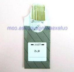 10 HLX5 Titanium Home Sewing Machine Quilting Needles