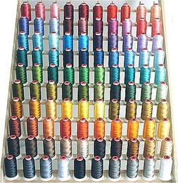 ThreaDelight 100 Spool Polyester Embroid
