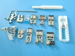 14pcs Sewing Machines Foot For Brother PE180D,PE200,PE400D,R
