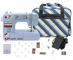 Janome 15312 Blue Hello Kitty Sewing Machine with Bonuspack!