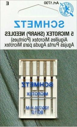 Schmetz 1730 Microtex  Sewing Machine Needle Size 90/14 130/