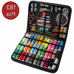 183PCS Premium Sewing Machine Kit, Kits For Adults, Kids, Co