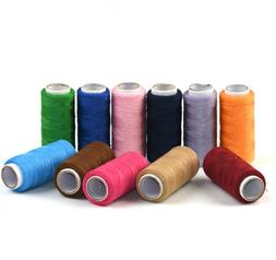 2 Spools 300 Meters Cotton Sewing Threads Assorted Color Han