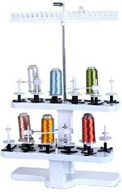 HONEYSEW 20-Spool Plastic Thread Stand Universal for All Hom