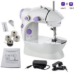 AMLINKER 202 Mini Sewing Machine, Portable Electric Crafting