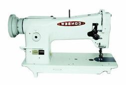 New Consew 206RB-5 Upholstery Sewing Machine, Stand, Servo M