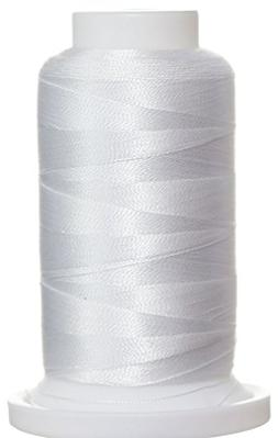 1M-2168 BFC Poly Machine Embroidery Thread 40 Wt, 1000m, Whi