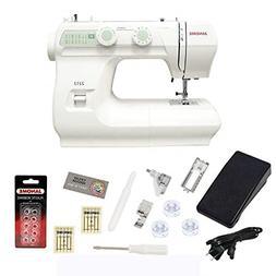 Janome 2212 Sewing Machine Includes Exclusive Bonus Bundle
