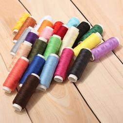 24 Color Cotton Sewing Thread Spools Sewing Machine Accessor