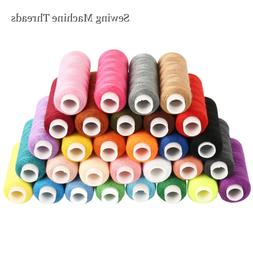30 Color 250 Yards polyester Sewing Thread sewing machine li