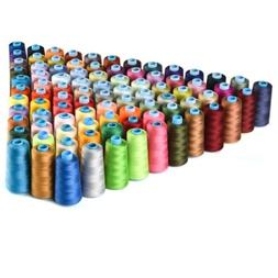 30pcs 250 Yard Mixed Color Polyester Spool Sewing Thread for
