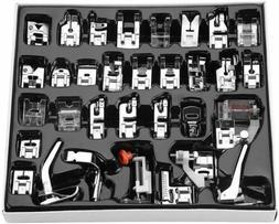 32/42pcs Domestic Sewing Machine Presser Foot feet Set for B