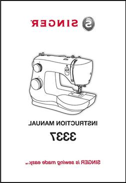 Singer 3337 Sewing Machine Instruction Manual