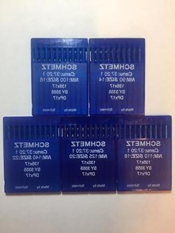 SCHMETZ 50pcs Size 14 16 18 20 22 135x17 DPx17 Walking Foot