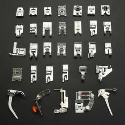 52pc Sewing Machine Foot Presser Feet Tool for Brother Janom