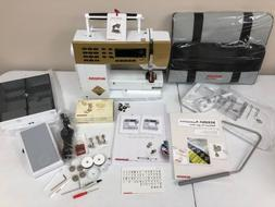 Bernina 530 Gold Limited Edition Sewing Machine with Gold Fo