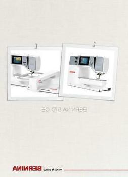 Bernina 570 QE B570 Sewing Machine Manual Instructions User