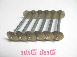 6 Brand New SINGER Treadle Long Bobbins ~ SINGER 27~28~127~1