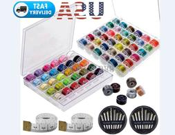 72Pcs/box Household Cotton Sewing Machine Thread String and