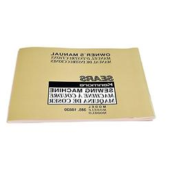 Kenmore 752800022 Sewing Machine Instruction Book Genuine Or