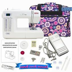 Janome 8077 Computerized Sewing Machine Includes Exclusive B