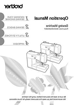 Brother CE1125PRW Sewing Machine Owners Instruction Manual