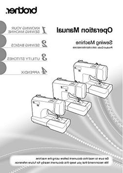 Brother SQ9185 Sewing Machine Owners Instruction Manual