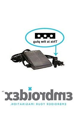 Embroidex - Sewing Machine Foot Control Pedal & Cord J003600