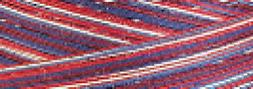 Signature 41 Cotton Variegated Colors 700 Yards-Stars & stri
