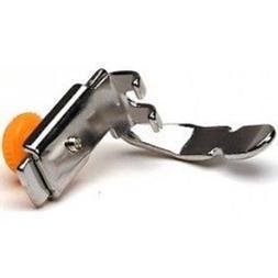Adjustable Zipper Cording Presser Foot, for all low shank se