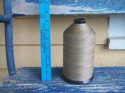 AMERICAN & EFIRD hand sewing KHAKI glace cotton thread CONE