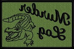 Animal Aliases: Alligator = Murder Log Funny Iron On Patch A