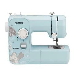 Aqua Sewing Machine Lightweight Portable 17-Stitch Full Size