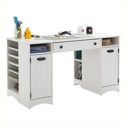 South Shore Artwork Craft Table with Storage - Large Work Su