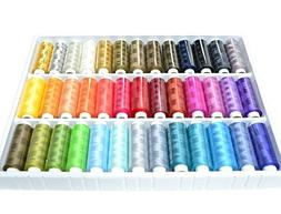 Hansi Naturals Assortment of Heavy Duty Thread with Organize