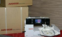 BRAND NEW Bernina B580 Sewing/Quilting/Embroidery Machine w/