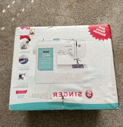 Brand New in Box SINGER Sewing Co Stylist 7258 Electric Mach