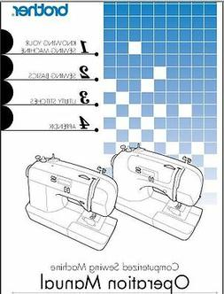 Brother CS6000i Sewing Machine Instruction Manual Users Guid