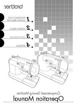 Brother CS6000i Sewing Machine Owners Instruction Manual Rep