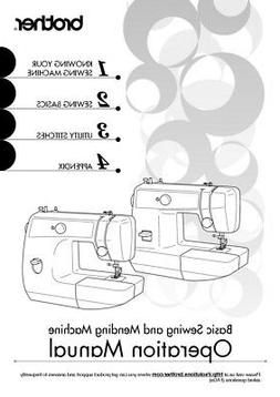 Brother LS2125 LS2125i LS2129 Sewing Machine Owners Instruct