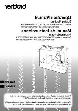 Brother XM3700 Sewing Machine Owners Instruction Manual Repr