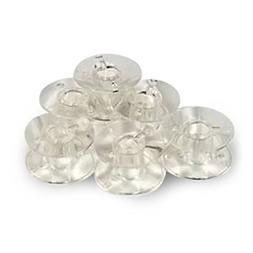 50 pk. Clear Bobbins 102261103  - Elna, Janome, Kenmore