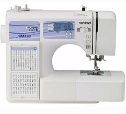 Brother Computerized Sewing and Quilting Machine HC1850 130