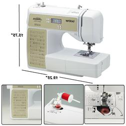 Brother Computerized Sewing Machine 100-Stitch Project Runwa
