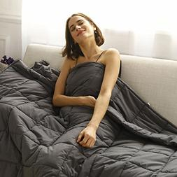 CuteKing Weighted Blanket 60''x80'' 20lbs Queen Bed Heavy wi
