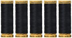 Natural Cotton Thread 110 Yards-Almost Black