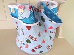 Craft Bag Kit Garden Gnome Tote Tool Craft Knitting Bag Sewi