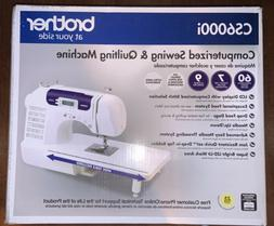BrotherCS6000i 60-Stitch Computerized Sewing Machine NEW F
